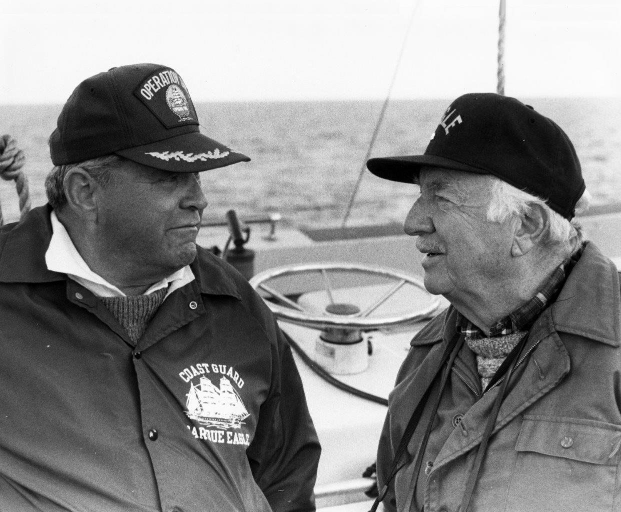 Howard and Walter Cronkite